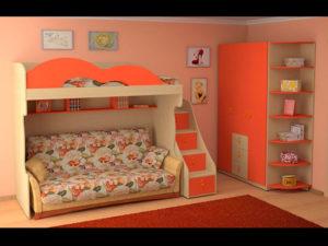 пример 11 мебель для детской комнаты на заказ