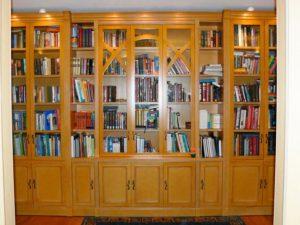 пример 2 книжный шкаф на заказ