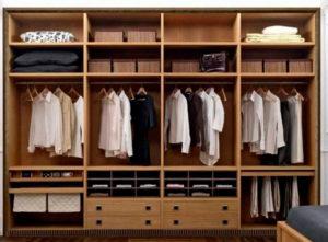 пример 20 мебель для гардеробной комнаты на заказ