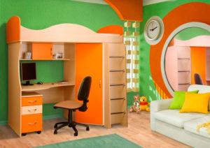 пример 21 мебель для детской комнаты на заказ