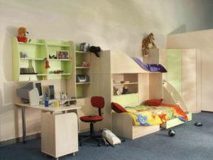 пример 23 мебель для детской комнаты на заказ