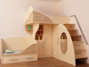 пример 24 мебель для детской комнаты на заказ