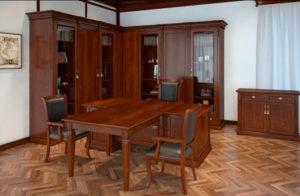 пример 25 мебель для кабинета на заказ